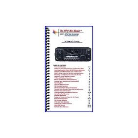 Mini-manual Icom Ic-7600 De Nifty Accessories