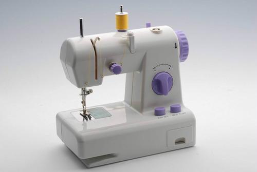 Mini Maquina Coser Portatil Doble Hebra Practica Liviana