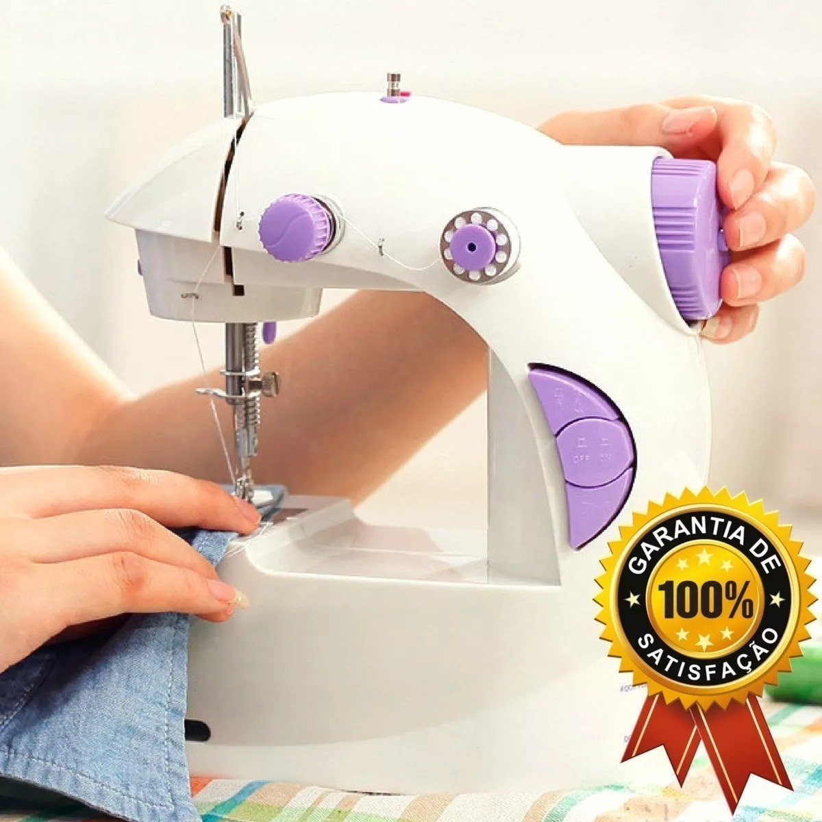 b269365b5 mini maquina d costura elétrica portátil bivolt frete grátis. Carregando  zoom.