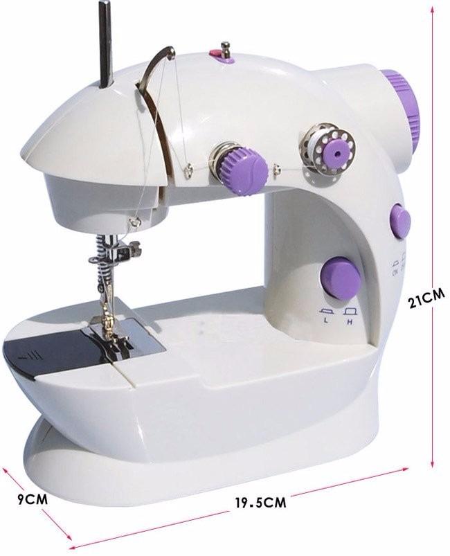 Mini Maquina De Coser Coats, Incluye Organizador - $ 750