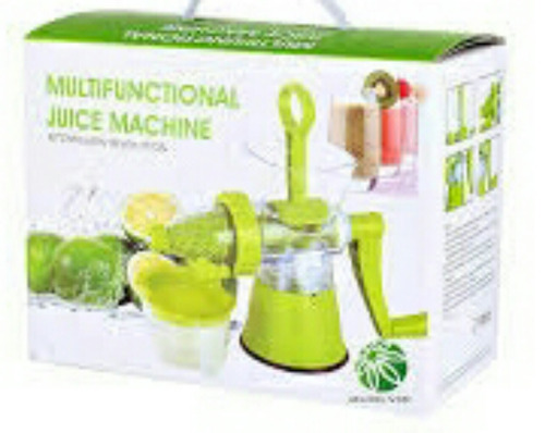 mini máquina espremedor fazer sorvete de frutas suco manua