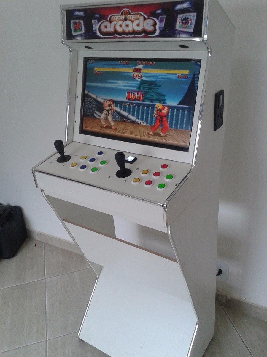 Mini Maquina Fliperama Arcade Multijogos Bartop Pinball