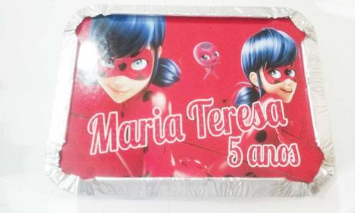 mini marmitas personalizadas lembrancinha - 50 peças