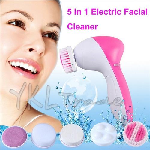 mini masajeador electrico de la cara 5 en 1  spa de belleza