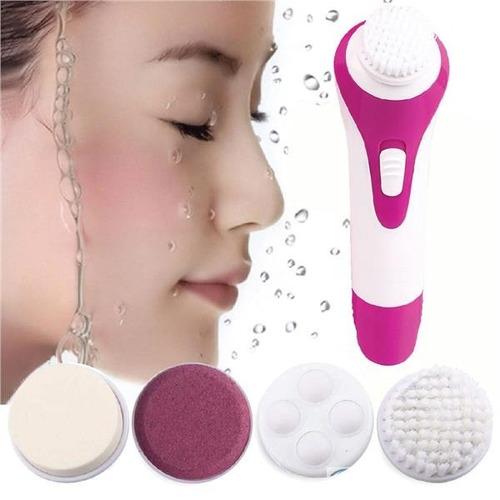 mini masajeador electrico para la cara 5 en 1, spa facial