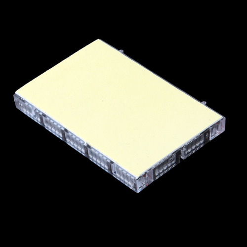mini material placa protoboard transparente sin soldadura co