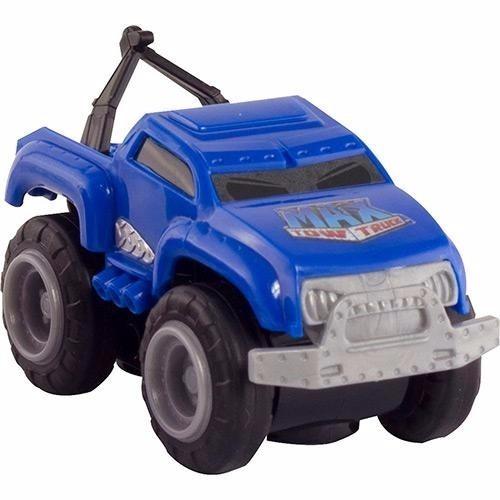 Mini Max Tow Truck Carro Com Pista Magnética Original Azul R 31