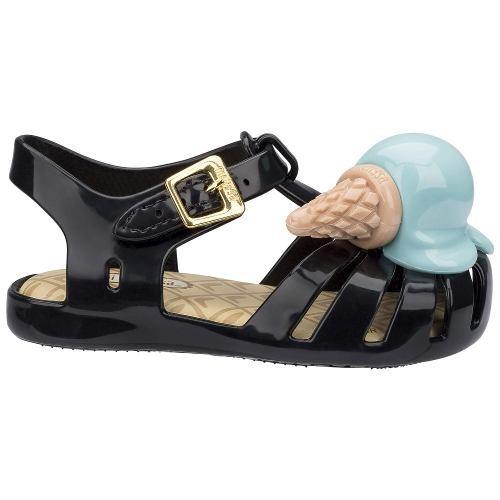 mini melissa aranha x rasteira chinelo sandália original ad