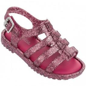 9d5fe19322 Mini Melissa Flox Glitter - Sapatos no Mercado Livre Brasil