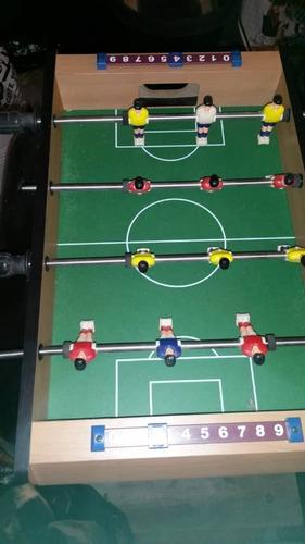 mini - mesa de futbolito de 52 cm x 32 cm