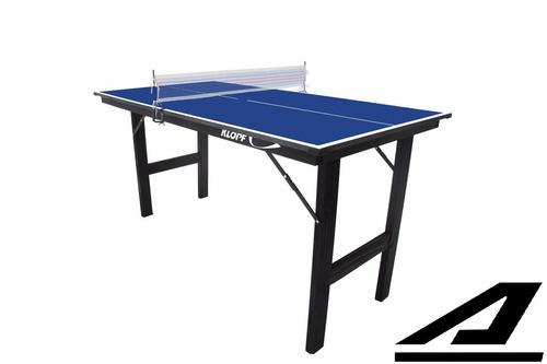 mini mesa de ping pong junior 1003 12mm dobrável promoção