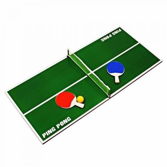mini mesa de ping pong madeira com 2 raquetes 1 bola nh0003 r 168 43 em mercado livre. Black Bedroom Furniture Sets. Home Design Ideas