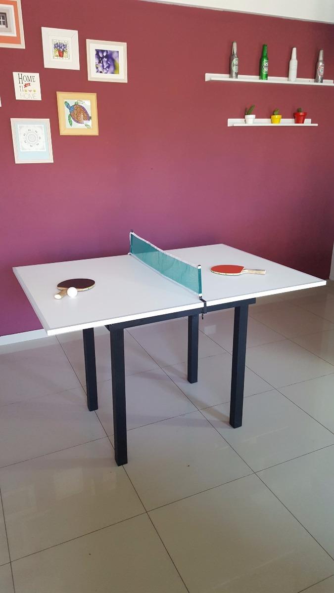 eb0e60467 mini mesa de ping pong - multiuso - ideal pequeños espacios. Cargando zoom.