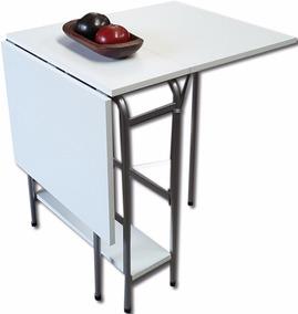 Mini Mesa Extensible Plegable Apertura Automatica Mesa Cocina Arrime Caño  1.2 X 60 Abierta Minimesa Practimesa Unica Cl