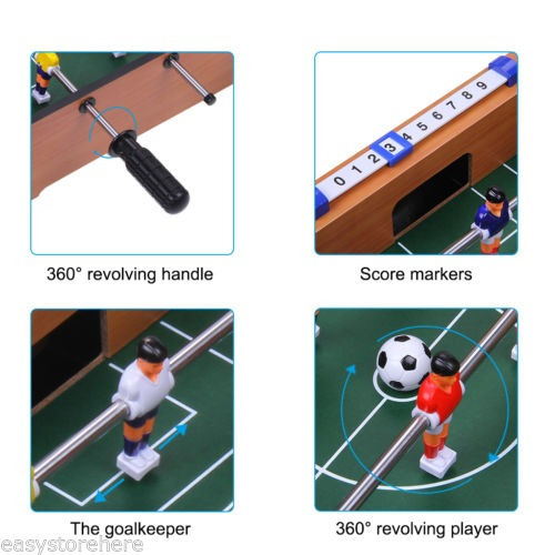 mini mesa futbolín superior 20 pulgadas futbol... (17inch)