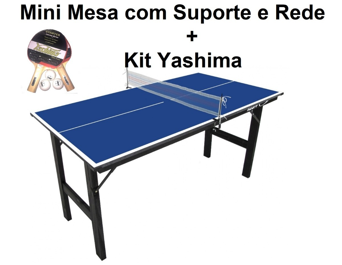 79a0c51f7 mini mesa ping pong - mdp 12mm - klopf - cód. 1003 com kit. Carregando zoom.