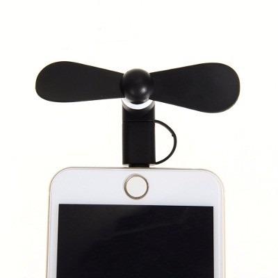 mini micro usb flexible portátil ventilador para android