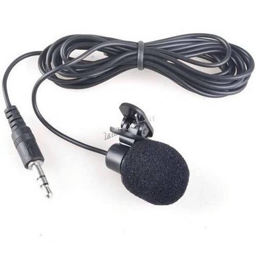 mini microfone lapela 3.5mm stéreo youtubers - frete10