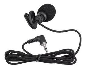 Mini Microfone Lapela P2 Mono Para Computador Notebook Skype