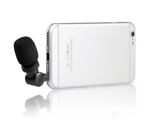 mini micrófono direccional smartmon de saramonic para sma