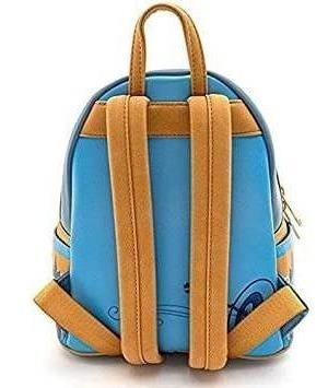 mini mochila del torneo de tiro con arco loungefly x disney