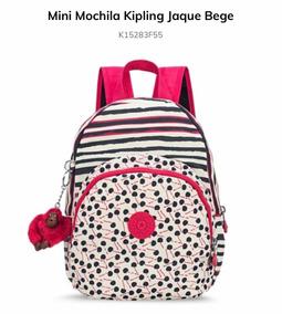 3828715b6 Mini Mochila Jaque Kipling no Mercado Livre Brasil