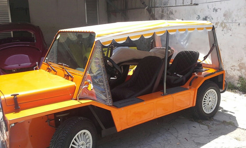 mini moke buggy