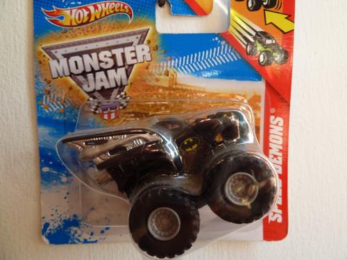 mini monster jam a escala 1/64 - hot wheels