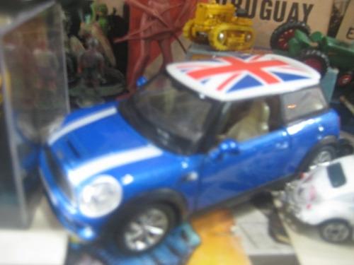 mini morris - 12 cm - metal - auto die cast