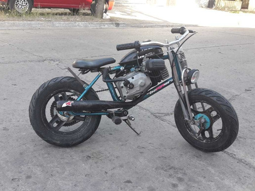 mini moto 50cc motor 2t irrompible