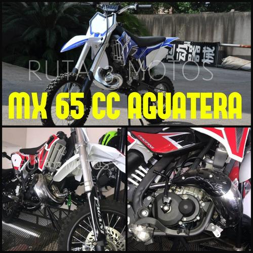mini moto 65 2t aguatera 0km