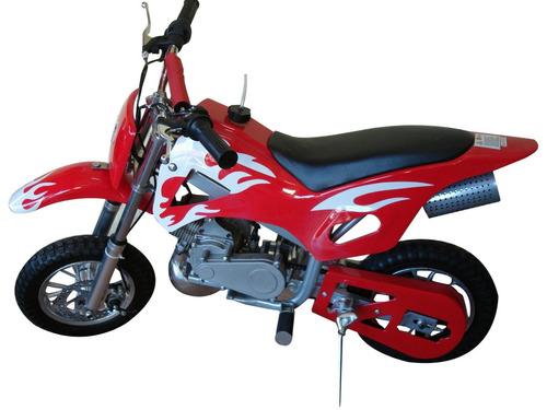 mini moto cross 49cc infantil bz fire