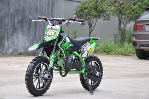 mini moto cross 49cc para chicos