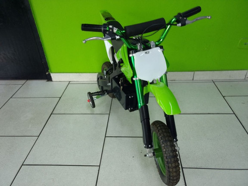 mini moto cross elétrica 24 volts semi nova