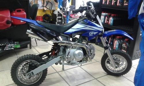 mini moto cross guerrero grf 90 azul agente oficial suzuki