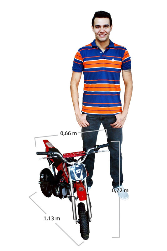 mini moto cross infantil bz vento 49cc