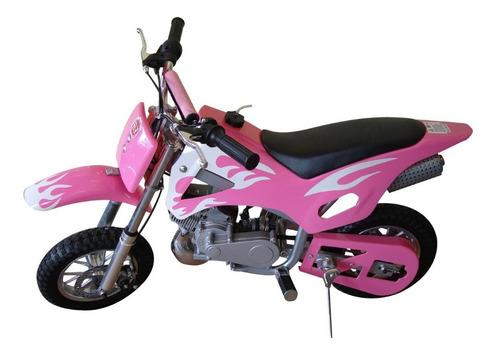 mini moto cross infantil à gasolina 49cc bz fire