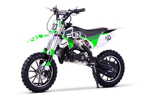 mini moto cross infantil laminha 49cc quadri e cia off road
