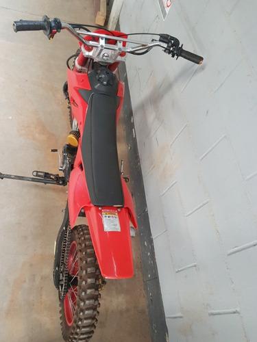mini moto cross kxd 608 100cc  em bom estado de uso