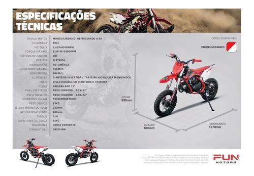 mini moto cross laminha 100 - quadri e cia off road