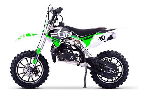mini moto cross laminha 49cc partida elétrica