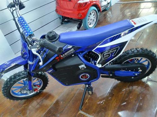mini moto cross niños mini electrica 500 w juguete chicos a
