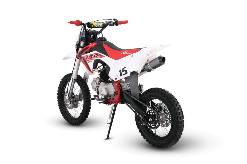 mini moto cross raptor 125cc 4 tempos 0km fun motors r. Black Bedroom Furniture Sets. Home Design Ideas