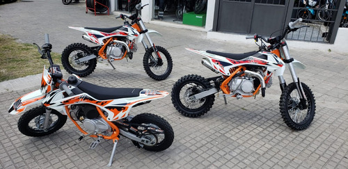 mini moto cross raveland - 70cc - 90cc - bike up