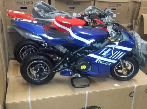mini moto de pista 49cc para chicos
