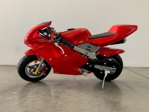 mini moto de pista 50cc (moto para niños)