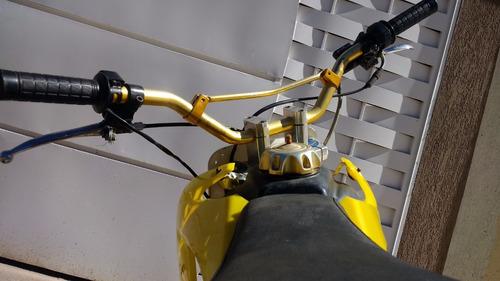 mini moto de trilha/motocross intermediaria