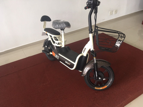 mini moto eletrica 350w cafe