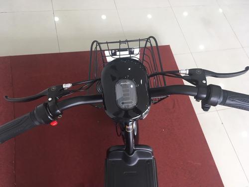 mini moto eletrica 350w preta