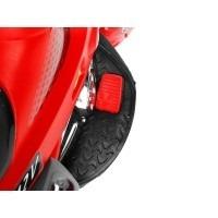 mini moto eletrica infantil 12v bandeirantes gt02 vermelha